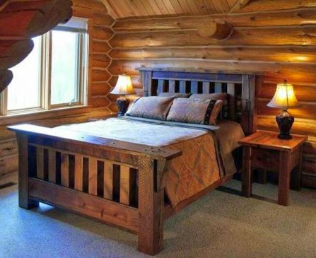 Rustic Bedroom Furniture for a Traditional Look and Vintage Theme