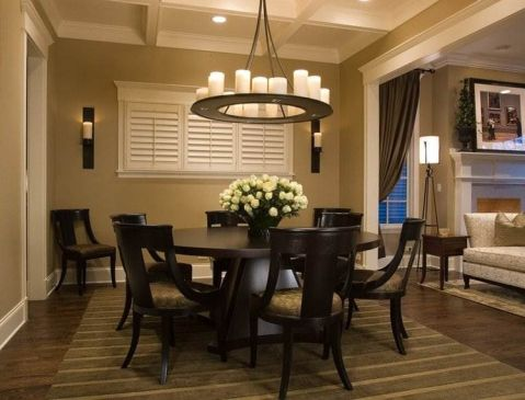How to Select the Right Dining Room Chandeliers to Beautify Your Living Space